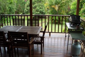 Holiday House Deck