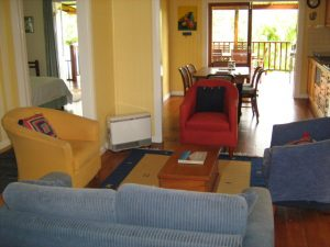 Blue House living room
