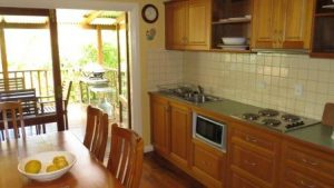 The Blue House Yungaburra Holiday House Kitchen
